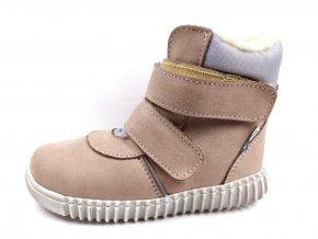 Zimní obuv Pegres E1706 cappuccino