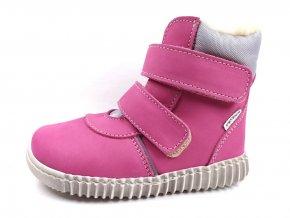 Zimní obuv Pegres E1706 růžové