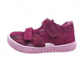 Jonap barefootové sandály B8S Vínový maskáč 1