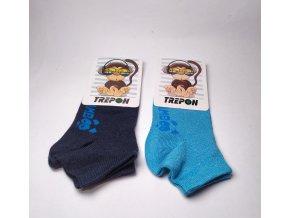 BAMBUSOVÉ ponožky nízké CHLAPECKÉ