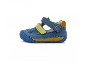Sandálky DDstep barefoot 070-698 Modrá