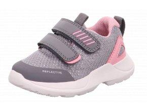 Celoroční obuv Superfit 0-609207-2600 Hellgrau/Rosa