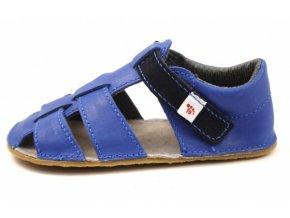 Barefoot sandálky EF světle modré