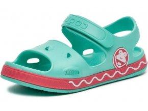 sandal zeleny