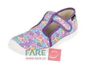 Papuče Fare BARE 5102492/5202492 dívčí