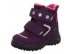 Zimní obuv Superfit 1-000045-8500 lila/rosa