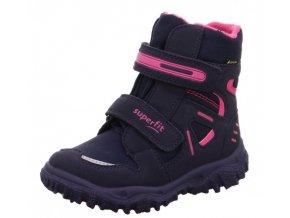 Zimní obuv Superfit 1-809080-8020 blau/rosa