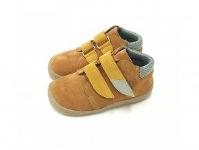 Celoroční obuv Beda Caramel s membránou