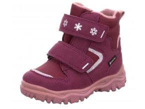Zimní obuv Superfit 1-000045-5020 rot/rosa