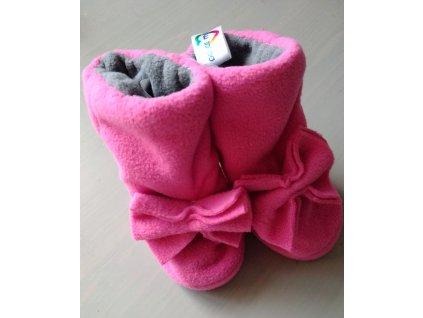 Zimní botičky pro nejmenší