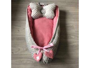 Hnízdečko pro miminko Bavlna/Minky