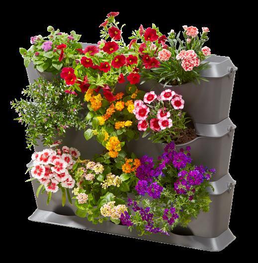 NatureUp! Systém vertikálních zahrad