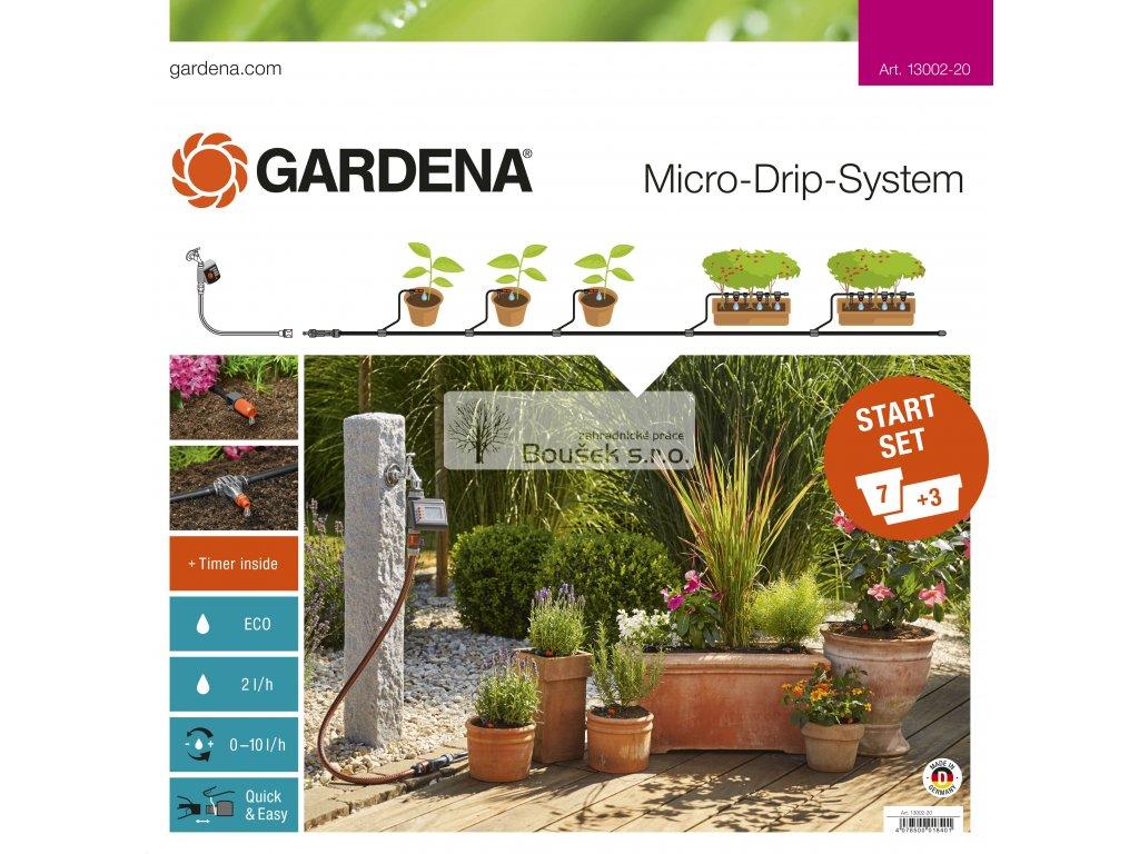 GARDENA Startovací sada pro rostliny v květináčích M s automatikou