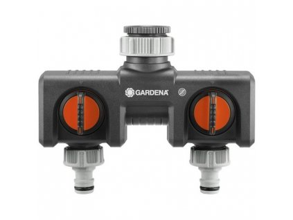 GARDENA 2-cestný rozdělovač vody