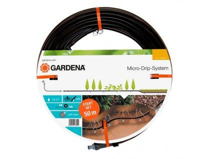 GARDENA Startovací sada - kapací hadice pro rostliny v řádcích podzemní 13,7 mm