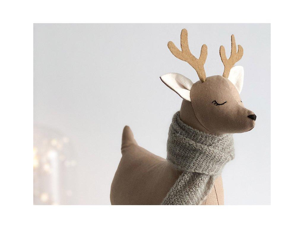Vánoční dekorace sob Svensson