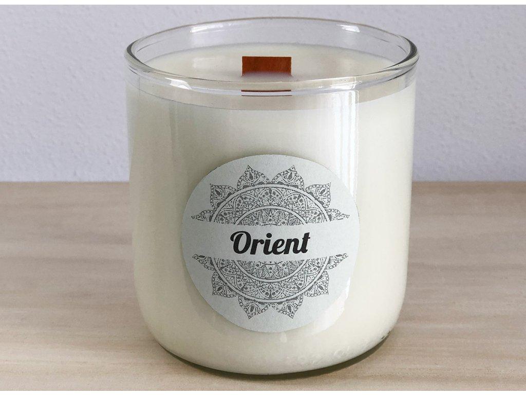 Vonná sójová svíčka Orient 240 ml