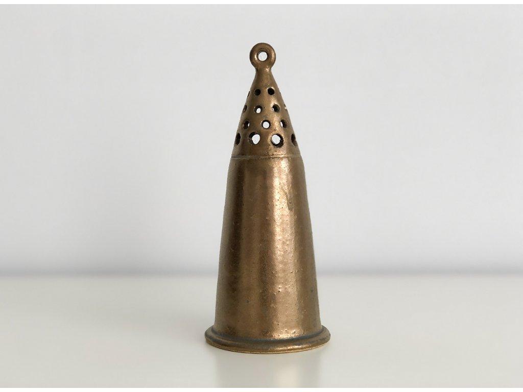 Zlatý keramický zvonek Sagrada