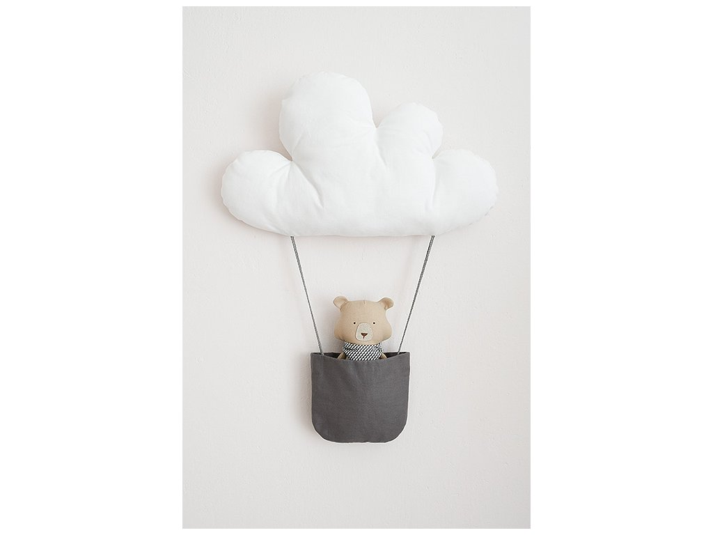 Dekorace medvěd Fenton v balónu