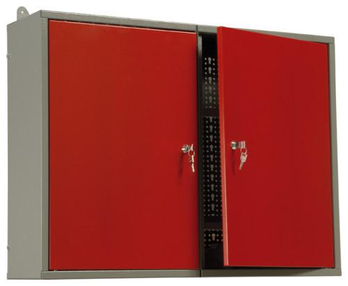 Závěsné skříně a děrované panely