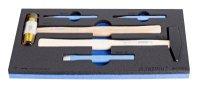 Sady kladiv, průbojníků a sekáčků s doplňky