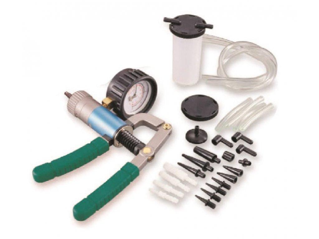Vakuová pumpa na měření a vytváření tlaku