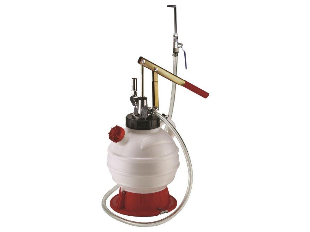 Pneumatická plnička oleje