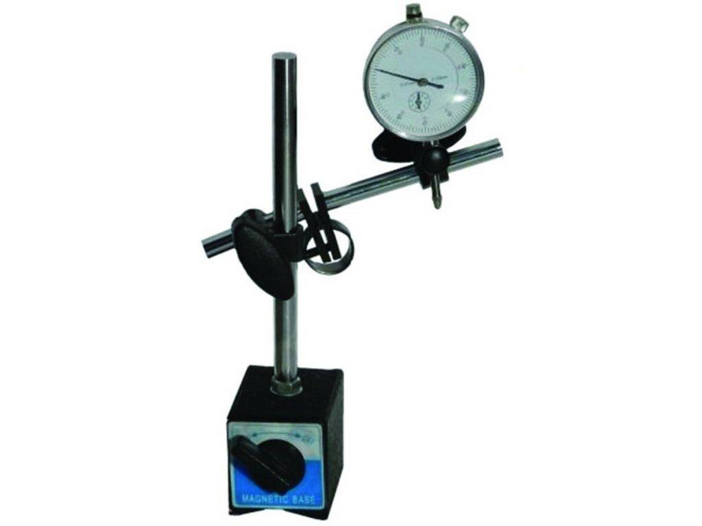 Magnetický stojan, stativ + úchylkoměr