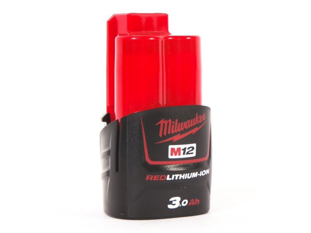 MILWAUKEE Baterie M12 B3 - 12 V / 3,0 Ah - Li-Ion