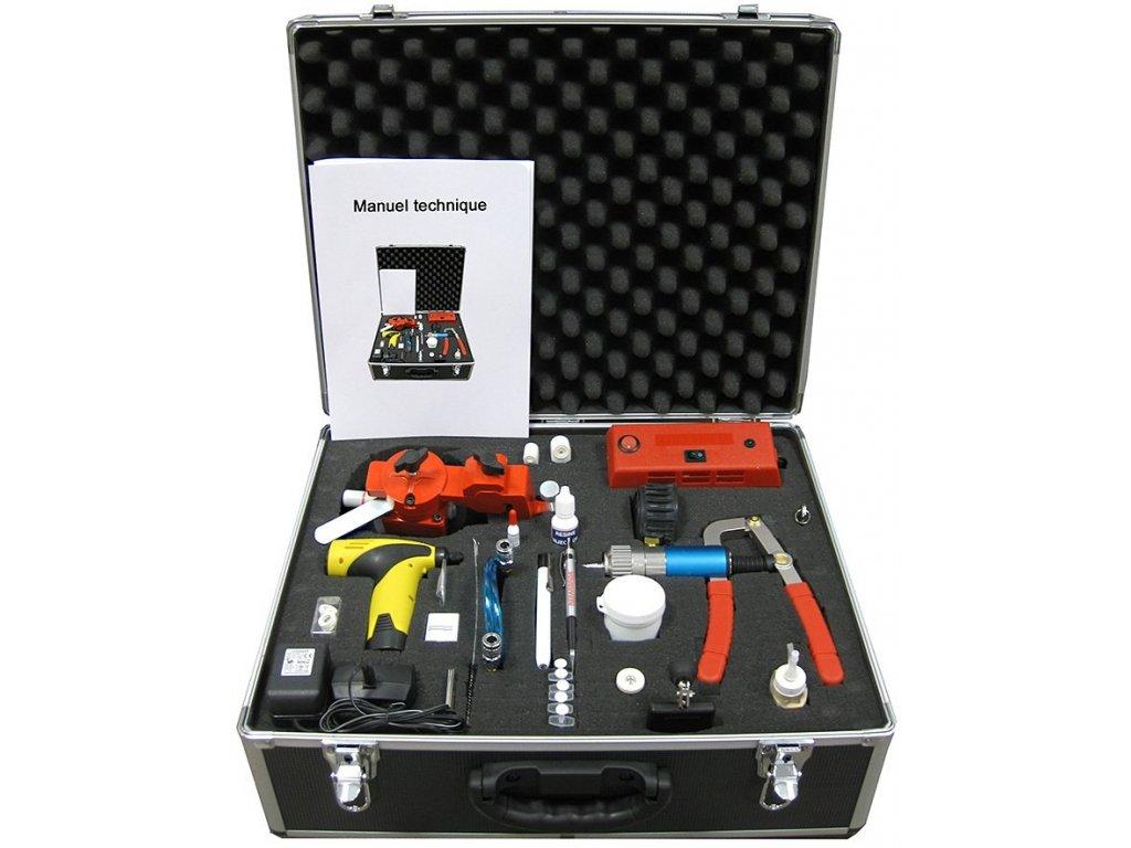 Sada pro opravy skel VBSA REPAR´VIT Deluxe Tool Box 1350