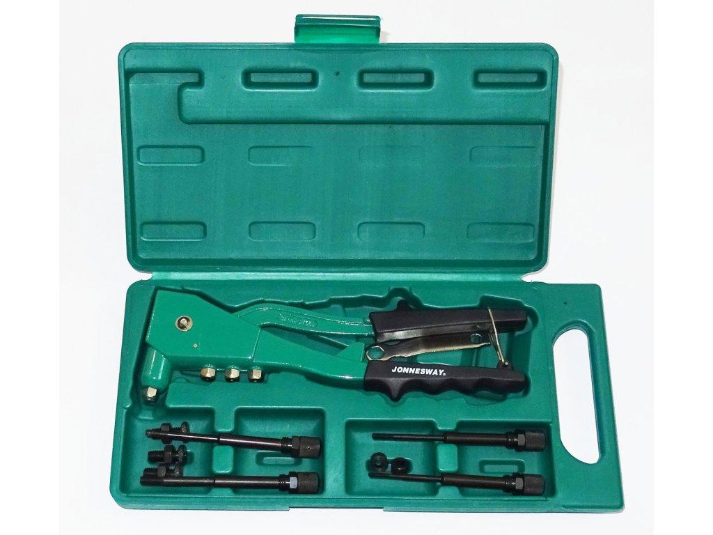nytovaci kleste na trhaci nyty 2.4 3.2 4.0 4.8 mm a maticove nyty m3 m6 jonnesway v1102 2