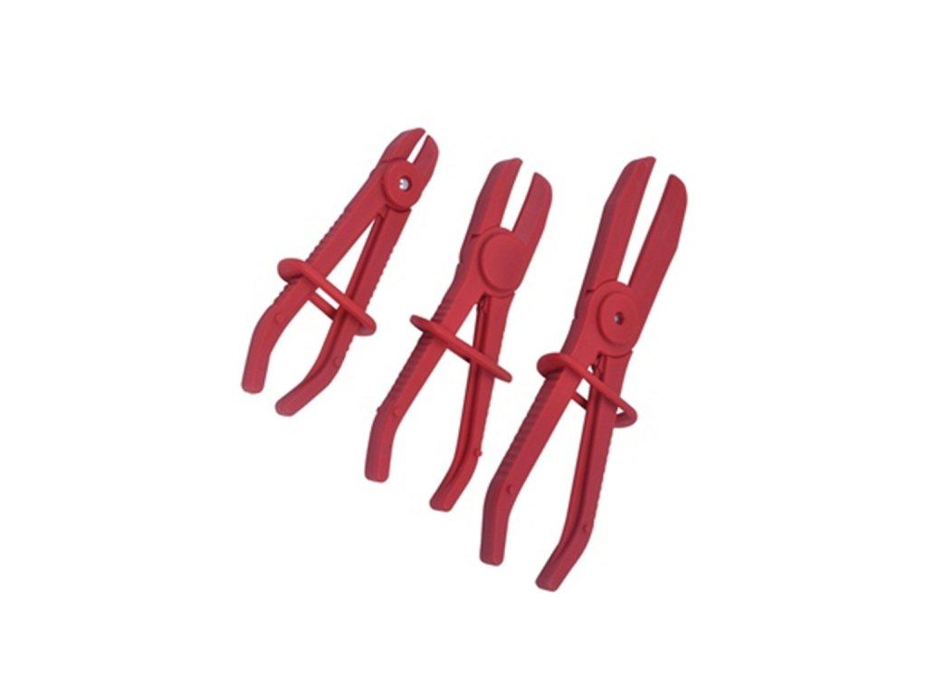Škrtící kleště na hadice 3ks - QS14201