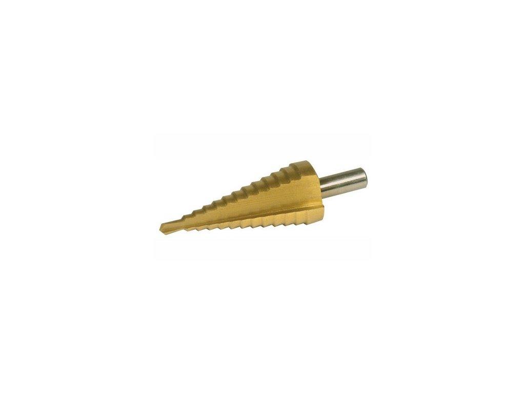 Vrták stupňovitý 6-38 mm krok 2-4 mm