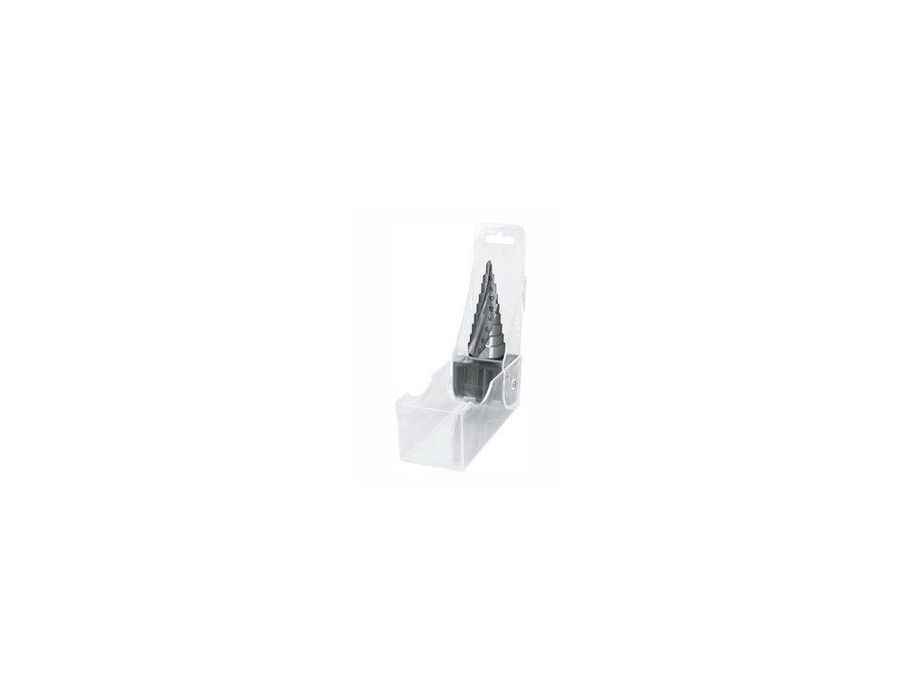 Vrták stupňovitý spirálová drážka krok 2mm