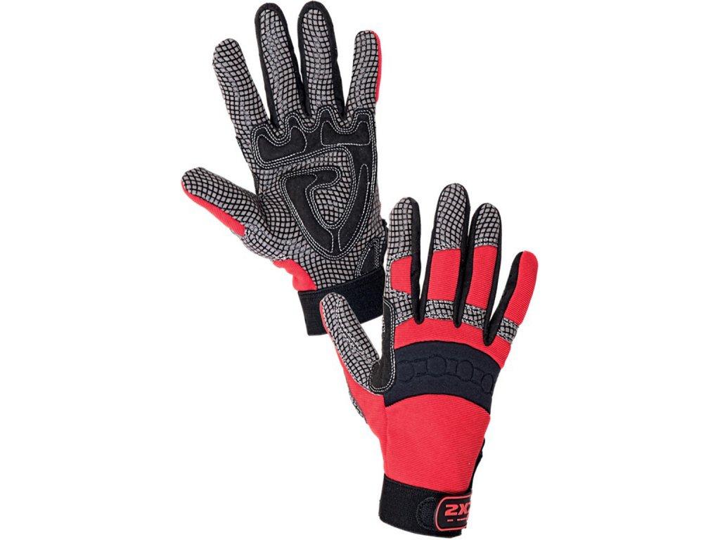 Profi kombinované rukavice SHARK 9, 11