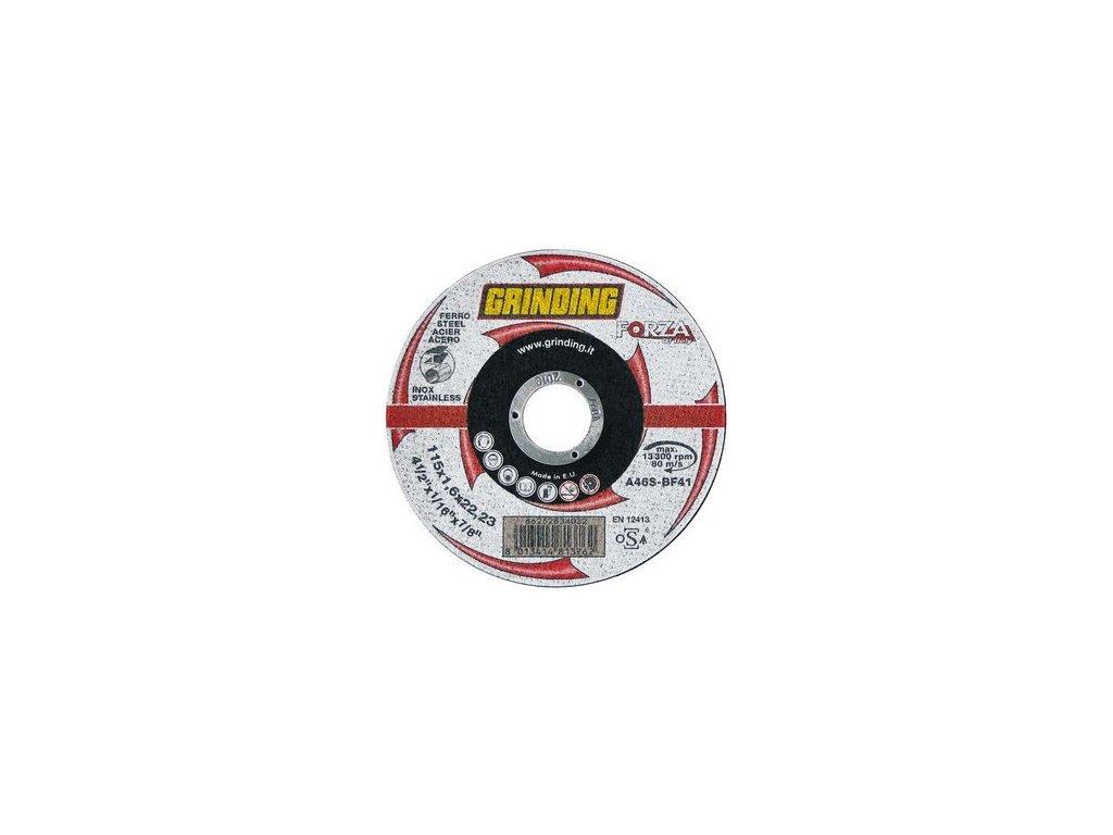 Profesionální řezné kotouče GRINDING TW A46S OCEL, NEREZ