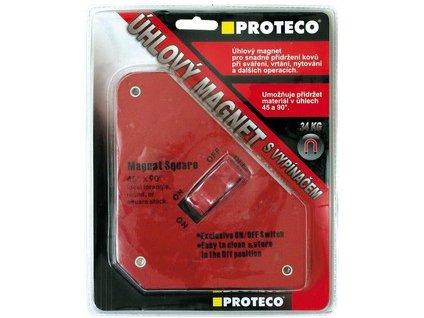 Úhlový magnet 130x152x28mm s vypínačem