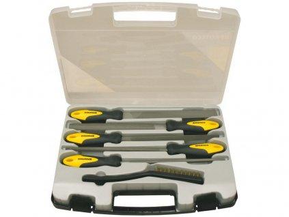 Sada pilníků 6-dílná 200mm v plastovém kufru