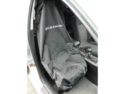 Pracovní potah předních sedadel, nylonový - QUATRO