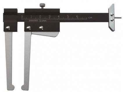 Profesionální kalibr pro měření tloušťky brzdových