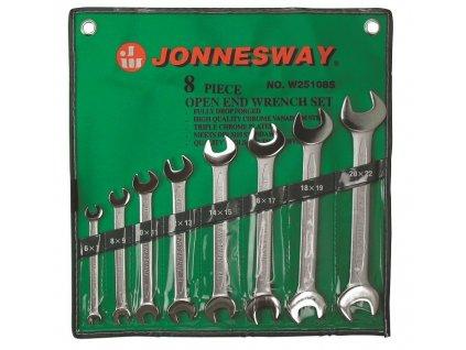 Sada profi plochých klíčů, 6x7 - 20x22 mm, 8 kusů