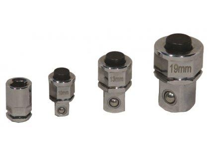 Profesionální adaptéry pro ráčnové klíče, rozměry