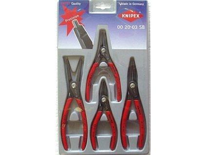 KNIPEX - sada kleští na pojistné kroužky 002003SB