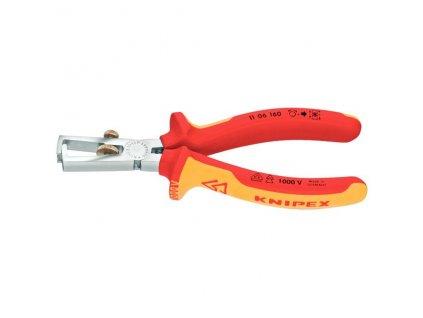 KNIPEX - kleště odizolovací 160 mm, potah PVC do 1000V…