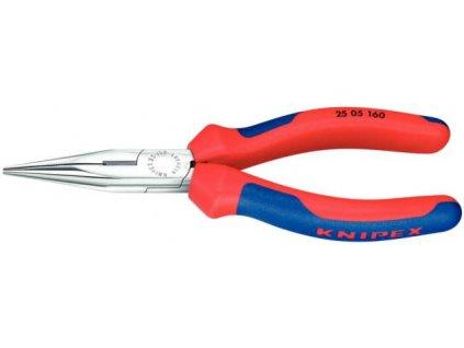 KNIPEX - kleště s půlkulatými čelistmi 160 mm 2505160