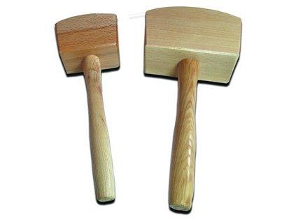 Tesařská dřevěná palička 650g