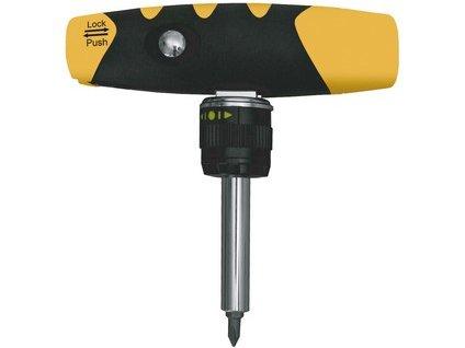 držák bitů magnetický 50 mm s ráčnou, univerzální rukojeť, 3 var.