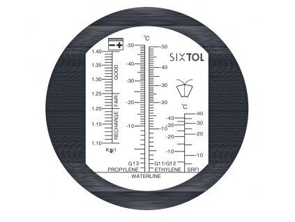 Refraktometr na měření provozních kapalin automobi