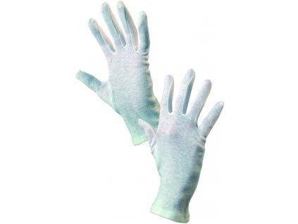 Univerzální bílé textilní rukavice FAWA