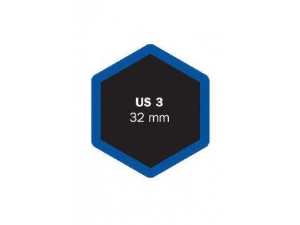 Univerzální opravná vložka US 3 (BIKE, MOTO tubel.
